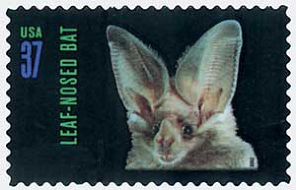 2002 37c American Bats: Leaf-nosed Bat