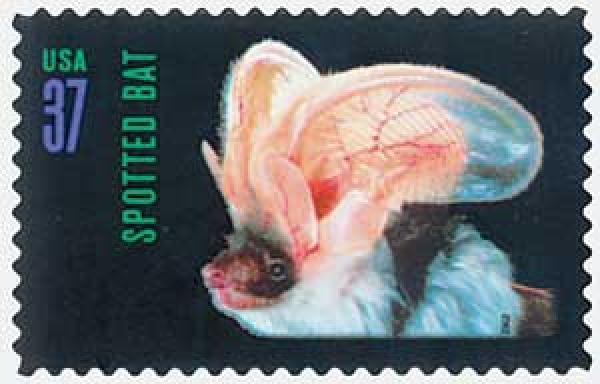 2002 37c American Bats: Spotted Bat
