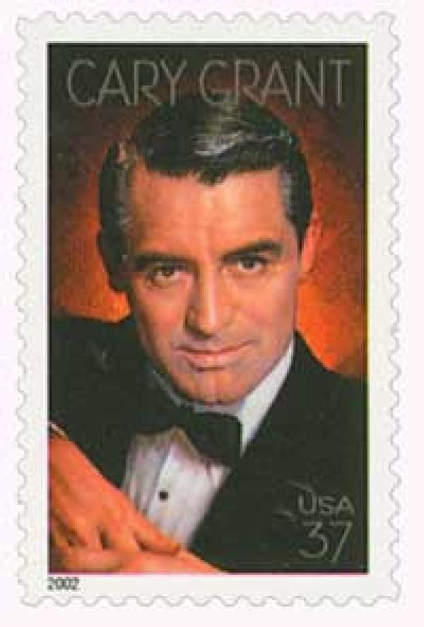 2002 37c Legends of Hollywood: Cary Grant
