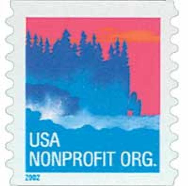 2002 5c Sea Coast, non-denominational