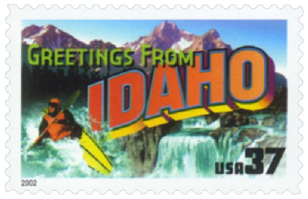 2002 37c Greetings from America: Idaho