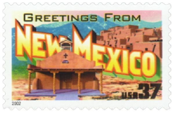 2002 37c Greetings from America: New Mexico