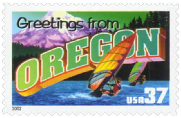 2002 37c Greetings from America: Oregon