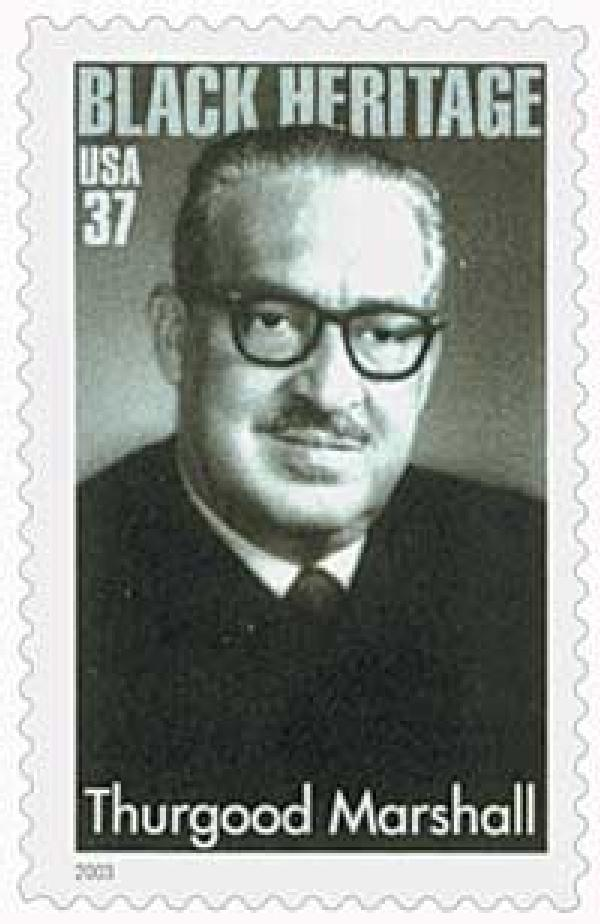 2003 37c Black Heritage: Thurgood Marshall