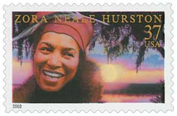 2003 37c Literary Arts: Zora Neale Hurston