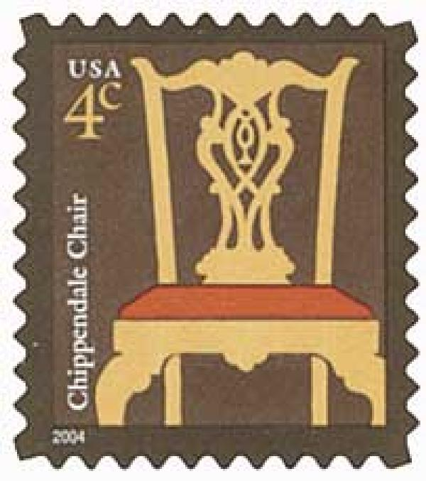 2004 4c Chippendale Chair (3750)