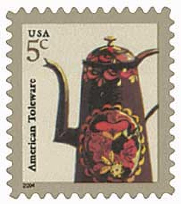 2004 5c Toleware (3750A)