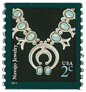 2011 2c Navajo Necklace, coil