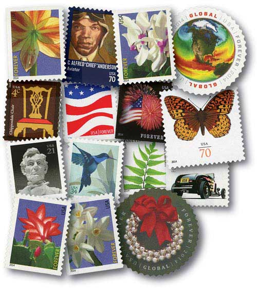 2014 Regular Issues, set of 49 stamps