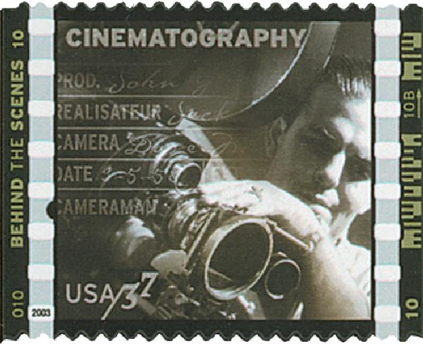 2003 37c American Filmmaking: Cinematography