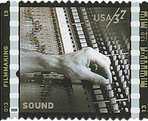 2003 37c American Filmmaking: Sound