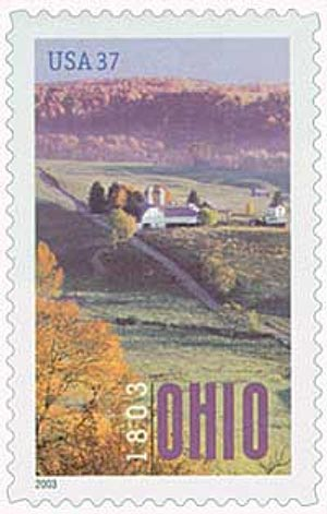 2003 37c Ohio Statehood