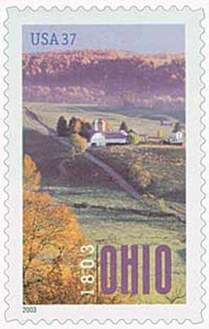 2003 37c Ohio Statehood