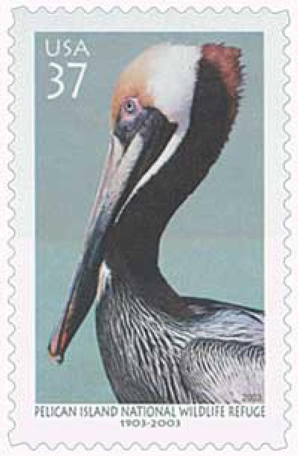 2003 37c Pelican Island National Wildlife Refuge