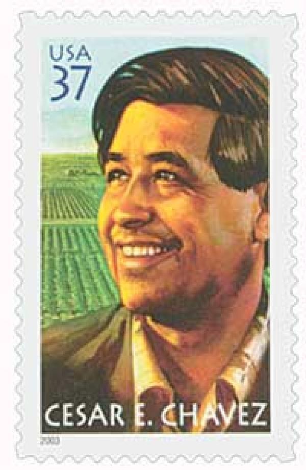 2003 37c Cesar E. Chavez