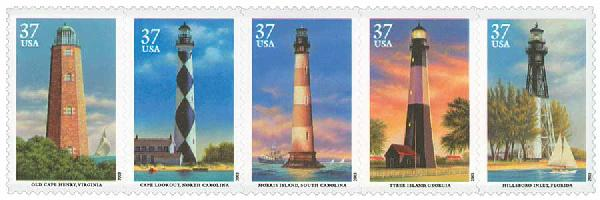 2003 37c Southeastern Lighthouses