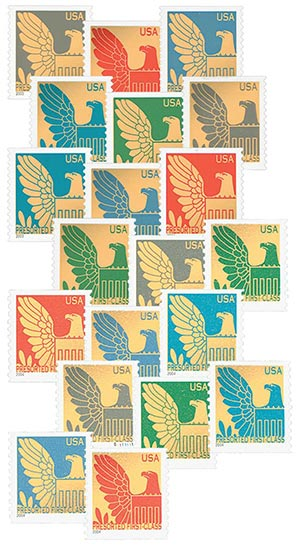 2003-04 American Eagles, collection of 20 stamps