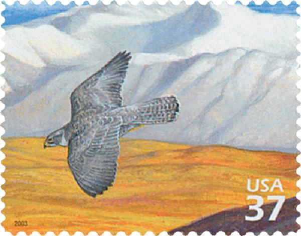 2003 37c Arctic Tundra: Gyrafalcon