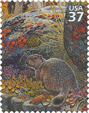 2003 37c Arctic Tundra: Ground Squirrel