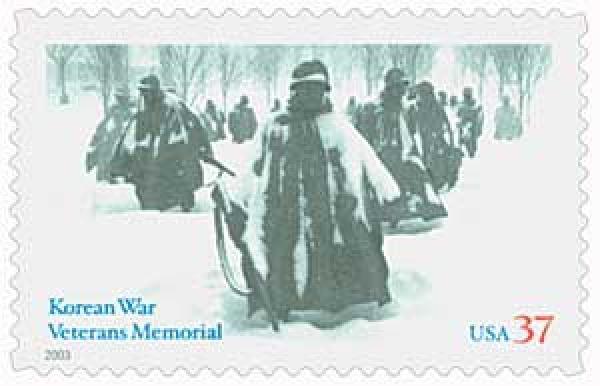 2003 37¢ Korean War Veterans Memorial