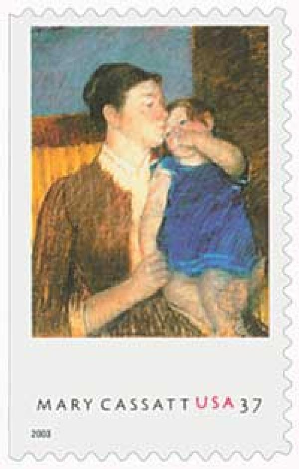 2003 37c Young Mother