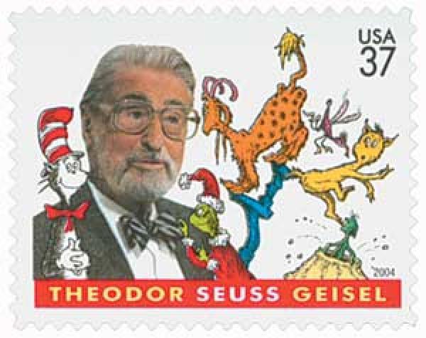 2004 37c Dr. Seuss