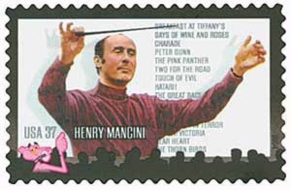 2004 37c Henry Mancini