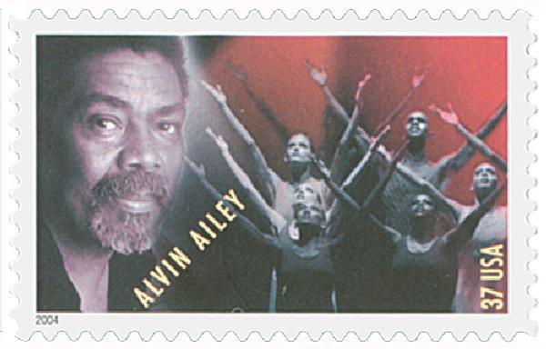 2004 37c American Choreographers: Alvin Ailey