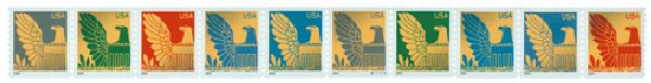 2004 25c Eagle, non-denominational, coil