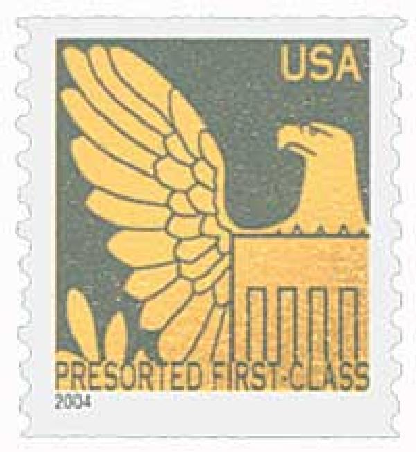 2004 25c Gold Eagle with Gray Background