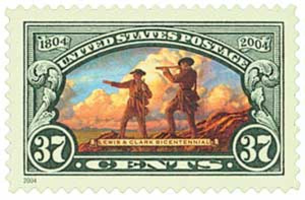 2004 37c Lewis and Clark Expedition