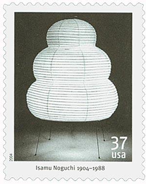 2004 37c Isamu Noguchi: Akari 25N