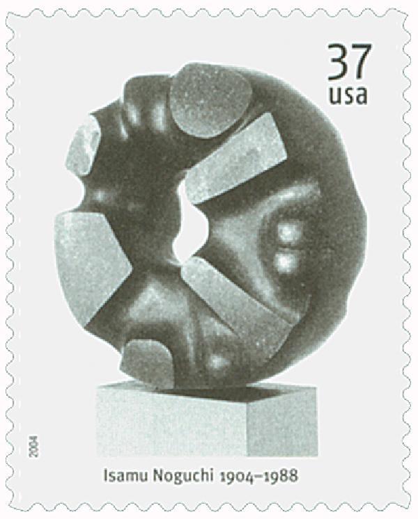2004 37c Isamu Noguchi: Black Sun