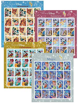 2004-07 US Disney Mint Sheet Collection