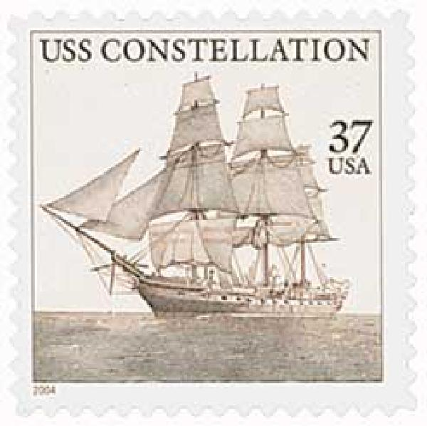 2004 37c U.S.S. Constellation