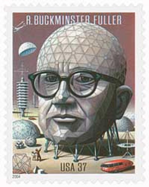 2004 37c R. Buckminster Fuller