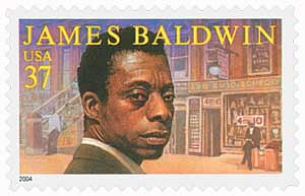 2004 37c Literary Arts: James Baldwin