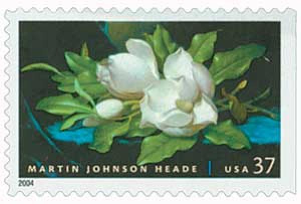 2004 37c Martin Johnson Heade Painting