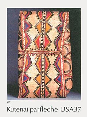 2004 37c Art of the American Indian: Kutenai Parfleche