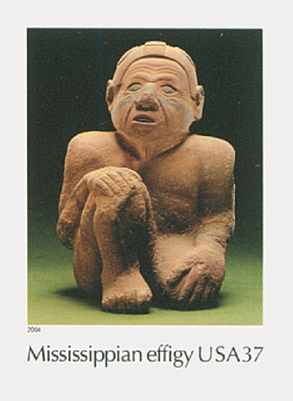 2004 37c Art of the American Indian: Mississippian Effigy