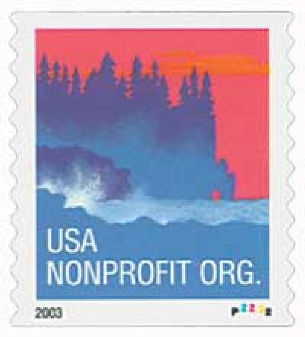 2004 5¢ Sea Coast, non-denominational