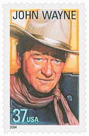 2004 37c Legends of Hollywood: John Wayne