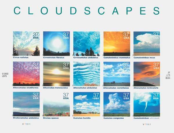 2004 37c Cloudscapes