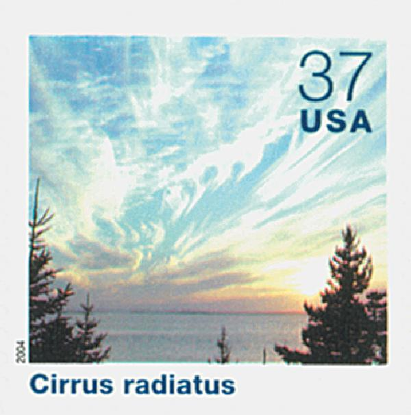 2004 37c Cloudscapes: Cirrus Radiatus