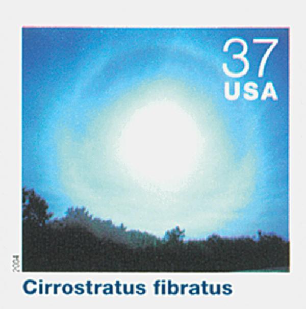 2004 37c Cloudscapes: Cirrostratus Fibratus
