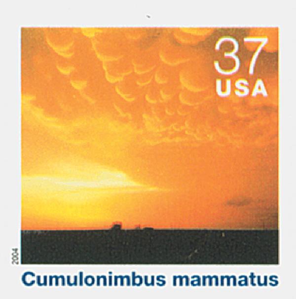 2004 37c Cloudscapes: Cumulonimbus Mammatus