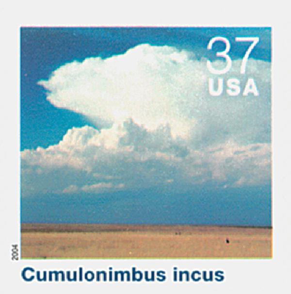 2004 37c Cloudscapes: Cumulonimbus Incus