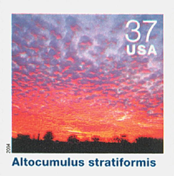 2004 37c Cloudscapes: Altocumulus Stratiformis