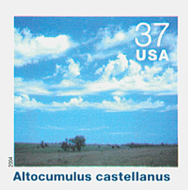 2004 37c Cloudscapes: Altocumulus Castellanus