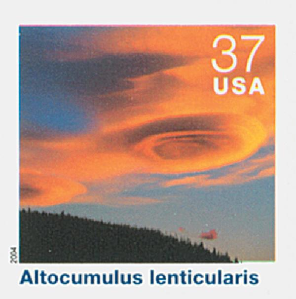 2004 37c Cloudscapes: Altocumulus Lenticularis